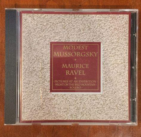 Modest MUSSORGSKY * Maurice RAVEL Bolero  CD