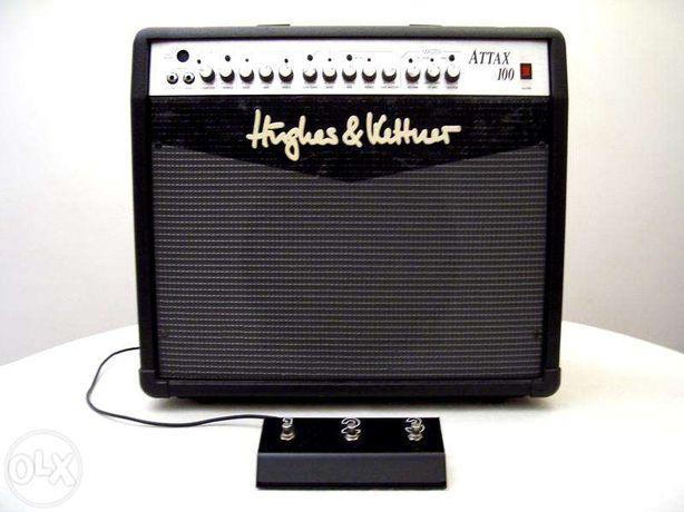 Amplificador de guitarra 120W com pré a valvulas