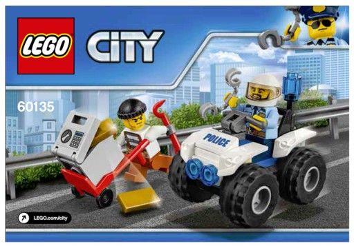 Klocki LEGO 60135 ,60136 ,60171 i Wóz pancerny