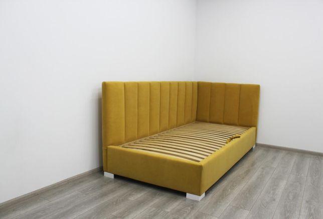 Детская кровать, дитяче ліжко велюр, угловая детская кровать
