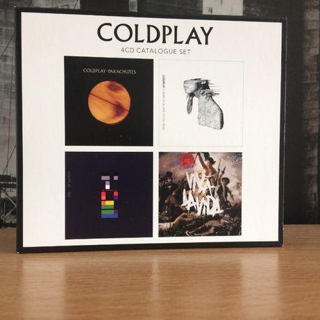 COLDPLAY 4CD Catalogue Set zestaw płyt