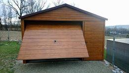 Blaszak 3x4 garaż blaszany schowek producent schowek na budowę magazyn