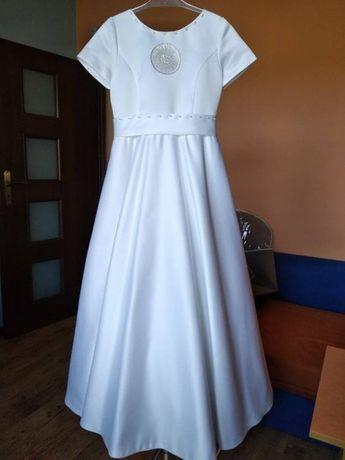 sukienka alba komunijna dziewczynka