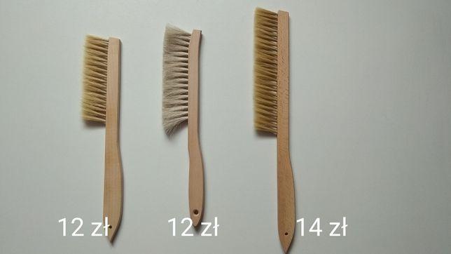 ZMIOTKA włosie naturalne 3 RODZAJE - pszczoły, miód, ule, ramki, matki