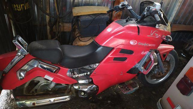 продаю мотоцикл на ходу