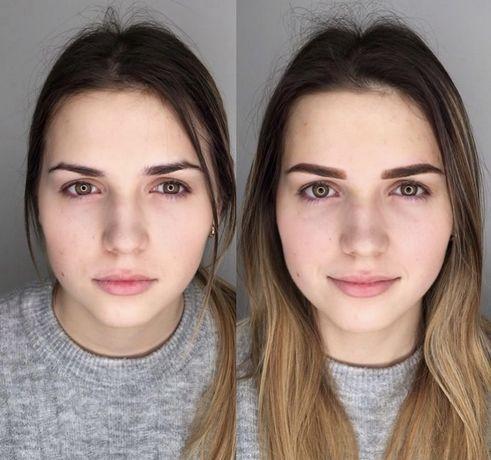Модель опытному мастеру  на Перманентный макияж : брови, губы, стрелка