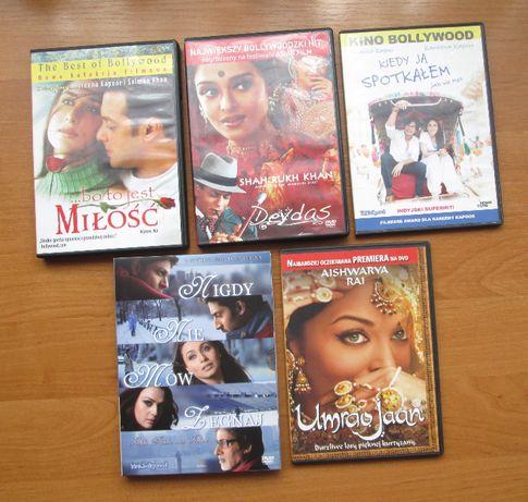 Zestaw 5 filmów DVD Bollywood