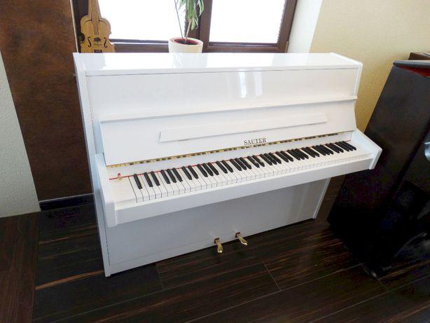 pianino biale SAUTER