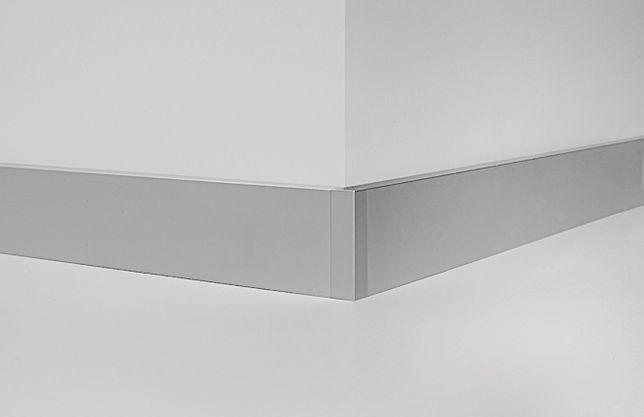 Плинтус Blw-3110 алюминиевый анодированный прямоугольный НАЛИЧИЕ