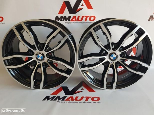 Jantes BMW Black/Polished 18