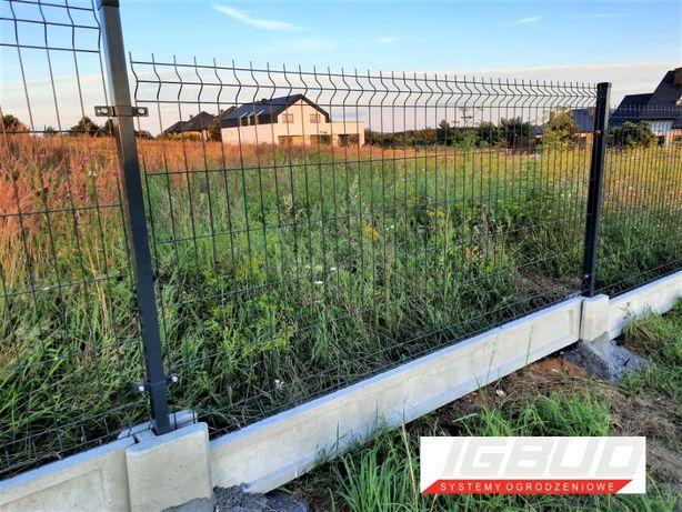 Panel ogrodzeniowy 3D z podmurówką!