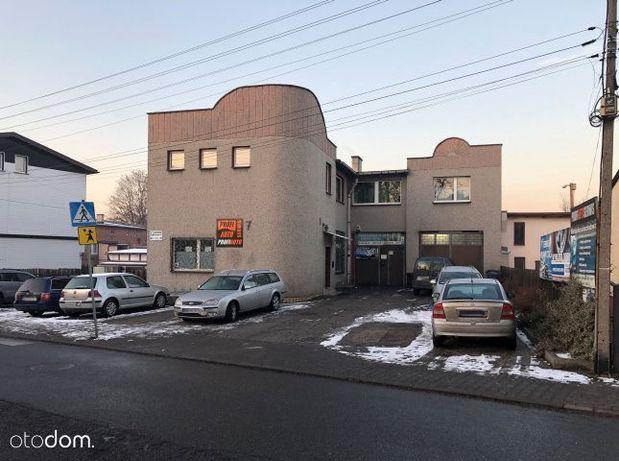 Budynek usługowo, handlowo-biurowy z warsztatem