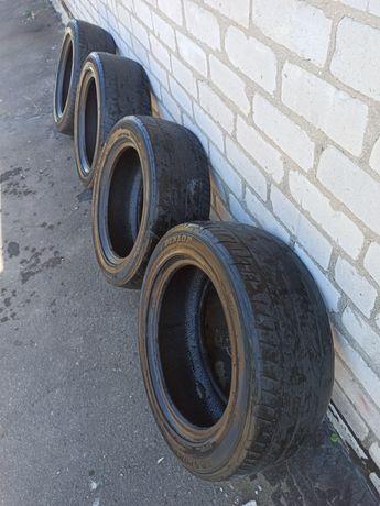 Комплект резины Dunlop Sport 235/55 R17. Made in Thailand.