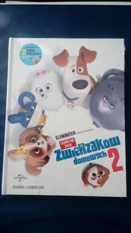 Sekretne życie zwierzaków domowych 2 booklet DVD
