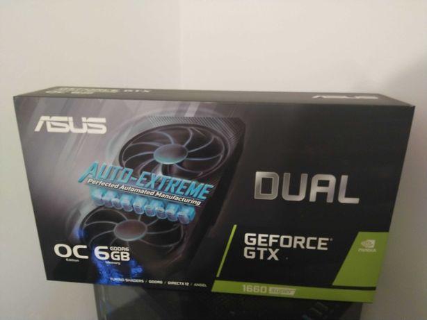 Vendo Asus Geforce GTX 1660 Super Dual Evo OC