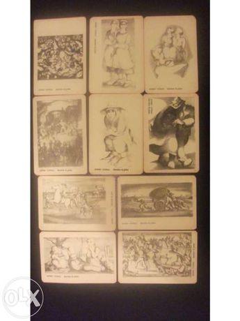 Pinturas de Álvaro Cunhal na prisão em calendário (colecção 10)