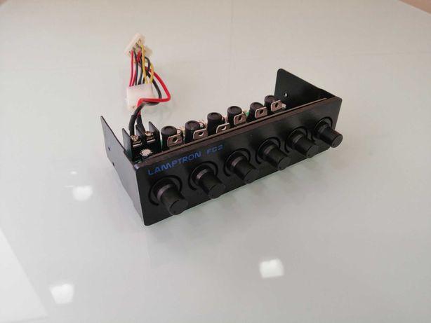 Controlador ventoinhas Lamptron FC-2