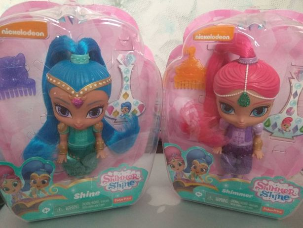 Fisher-Price Куклы джины Шиммер и Шайн Shimmer & Shine Genie