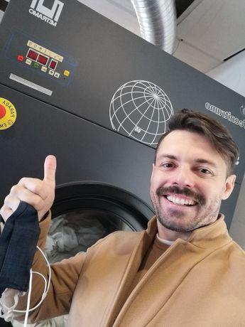 Máquina de secar roupa industrial lares e Residências Sénior