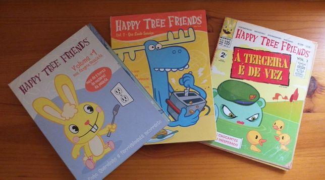 Happy Tree Friends - Vol 1, 2 e 3