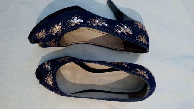 Продам туфли с открытым носком!