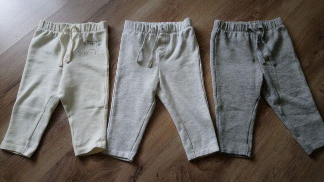 Spodnie dresowe 74/80 - nowe