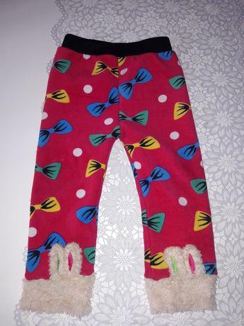 Leginsy i  spodnie ocieplane 92