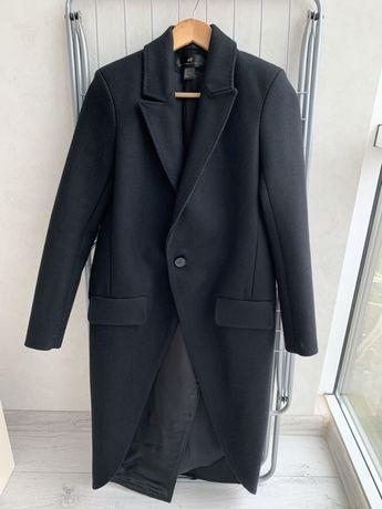 Пальто H&M 80% шерсть