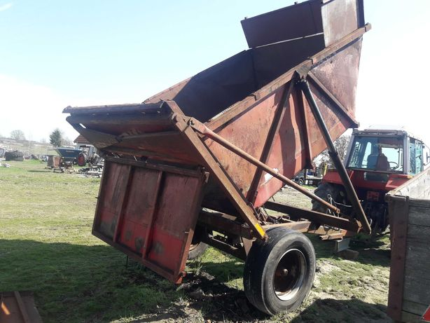 Przyczepa kontener  6 ton- do zielonki, kieszonki, zboża
