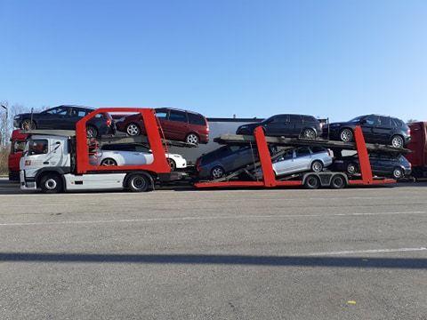 Transport aut na Ukrainę / transport samochodów do Ukrainy