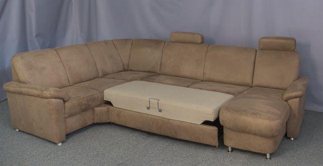 Большой диван.  Оптическая кожа.Фирменный диван. Немецкий новый диван.
