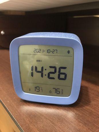 Будильник,часы,гигрометр,термометр Xiaomi