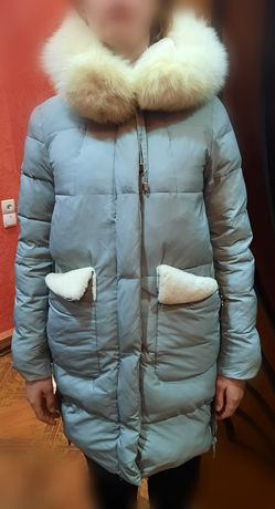 Пальто, пуховик зимний НОВЫЙ 5000