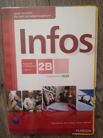 Książka do j.niemieckiego Infos 2B