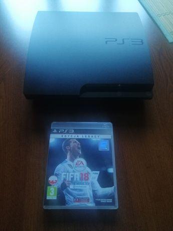 Sprzedam PS3 + FIFA 18 !!!