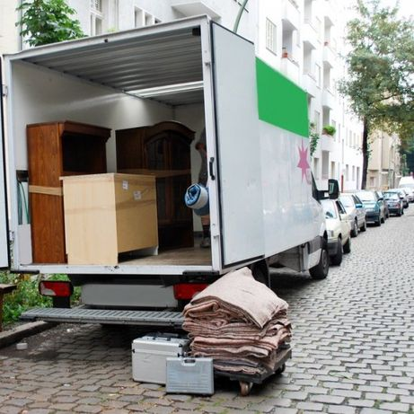 Transport/Przeprowadzki/Przewóz rzeczy/Bagażówka/Przewóz mebli