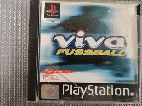 Viva Fussball PS1 PSX PSONE