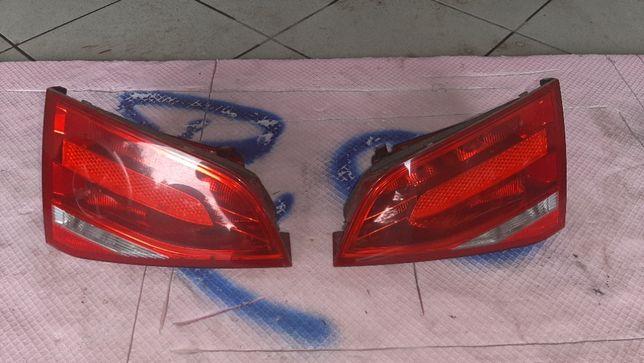 Lampa Lampy tylnia tylnie Audi A4 B8 sedan przedlift w klape