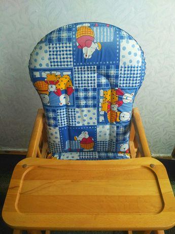 Детский стульчик, деревянный