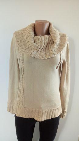 Теплий светр з хомутом(теплый свитер с хомутом)