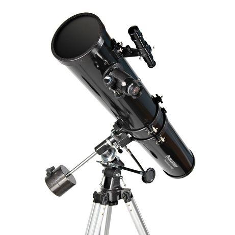 Teleskop Celestron PowerSeeker 114 EQ 900 barlow