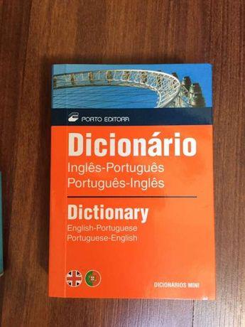 Dicionario de bolso Ingles-Portugues-Ingles Porto Editora