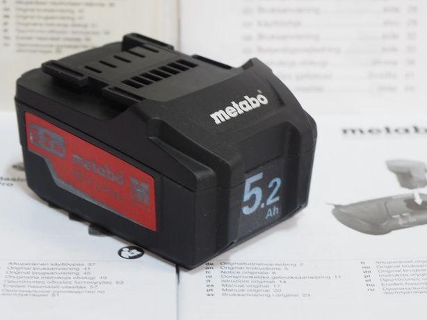 Bateria METABO 18v 5,2Ah akumulator LI-ION