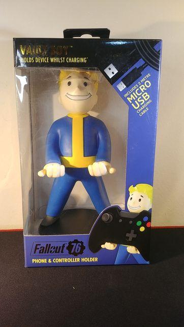 Stojak podstawka na pad telefon Fallout 76 + kabel usb Nowy
