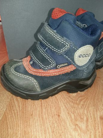 Зимние сапоги ботинки Ecco Gore Tex