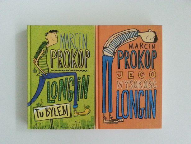 Pakiet dwóch książek: Tu byłem + Jego wysokość Longin -Marcina Prokopa