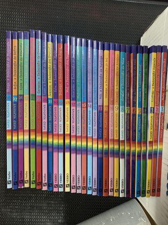 Livros (NOVOS) - A Magia do Arco-Iris - Coleção completa
