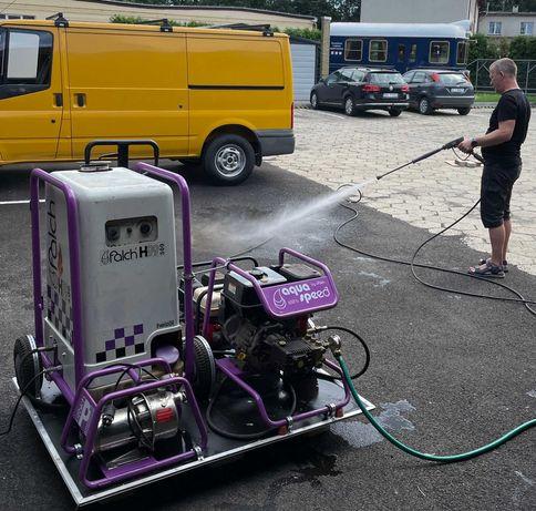 FALCH ZESTAW myjka ciśnieniowa 200 bar moduł grzewczy pompa wody