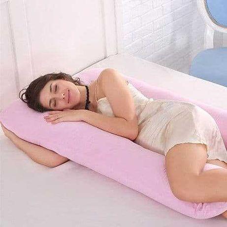 Подушка для беременных. Поддержка для животика, кормление, сон