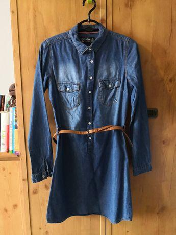 Sukienka - tunika jeansowa